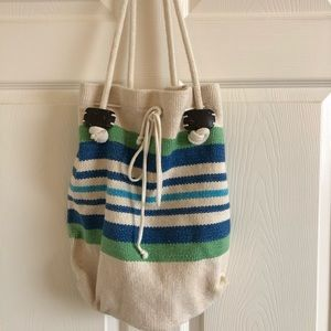 Lucky brand beach tote or casual bag